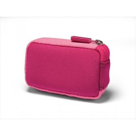 Bolsa de Neoprene com fecho de cor-de-rosa