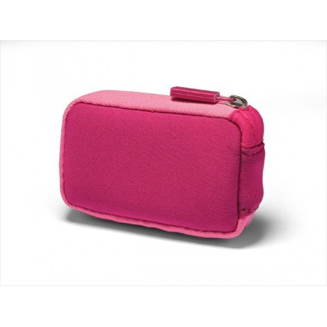 Neoprene bag with zipper pink