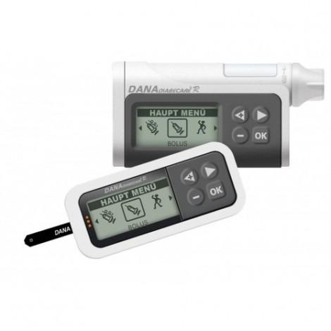 DANA Diabecare R инсулиновая помпа и пульт дистанционного управления