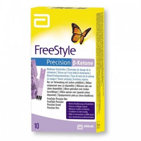 FreeStyle Precision ß-Cétones, Bandelettes de test de 10 Pièces