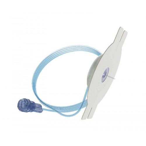 mylife Orbitsoft Infusionsset 6 mm 75 cm Softkanüle, blauer Schlauch 10 Stück