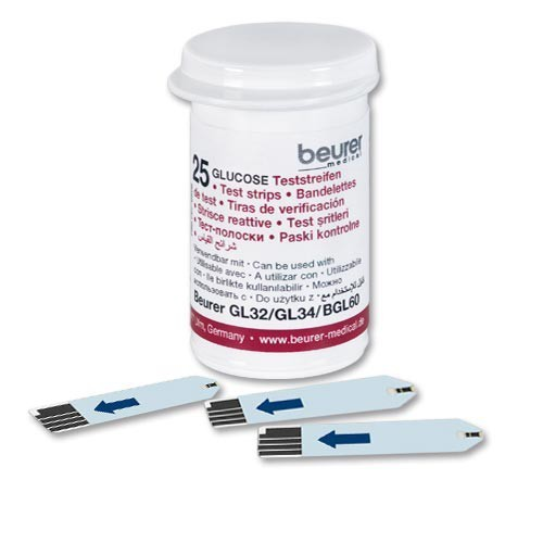 beurer GL32, GL34, BGL60 test strips 50 pieces