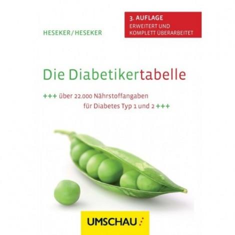 الكتاب السكري الجدول