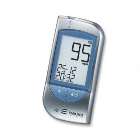 Beurer GL34 mg/dL الناطقة نظام مراقبة الجلوكوز في الدم