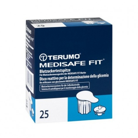 Terumo Medisafe Fit Blood Glucose Test Tips 25 PCs
