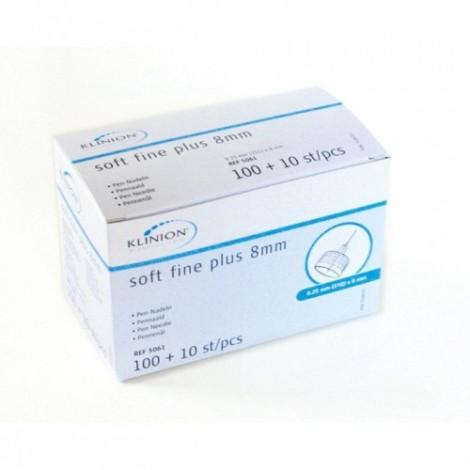 Klinion نرم افزاری خوب علاوه 31G 8 mm 110 قطعه