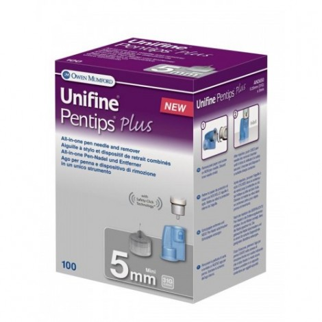 Unifine Pentipsプラスミニ5mm100PCs