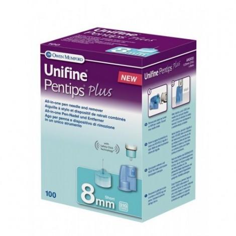 Unifine Pentips Mais Curta 8 mm