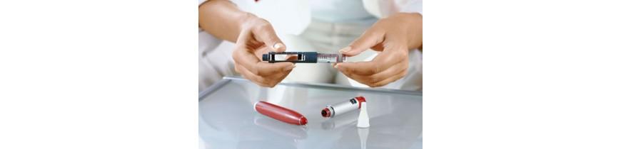 Canetas de insulina